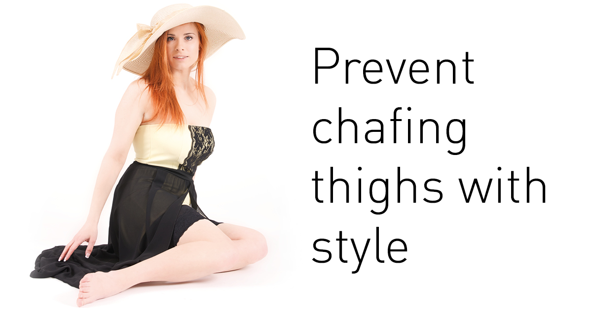 Prevent chafing thighs with style with Juniid thights woman